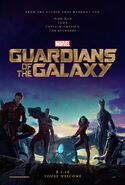 Guardians of the Galaxy (film) teaser poster