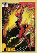 Rachel Summers (Earth-811) from Marvel Universe Cards Series II 0001