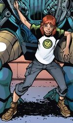 Ines Harper (Chronosaurus Rex) (Earth-616) from Amazing Spider-Man & Silk- The Spider(fly) Effect Infinite Comic Vol 1 5 001