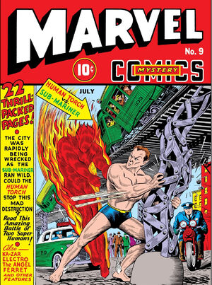 Marvel Mystery Comics Vol 1 9
