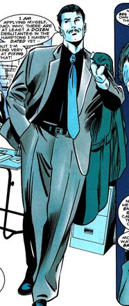 Anthony Stark (Earth-616) as a young adult in Iron Man Iron Age Vol 1 1