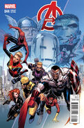 Avengers Vol 5 44 End of an Era Variant