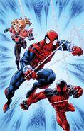 Scarlet Spiders Vol 1 1 Bagley Variant Textless