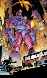 Sentinels (Earth-1610) from Ultimate X-Men Vol 1 1 001