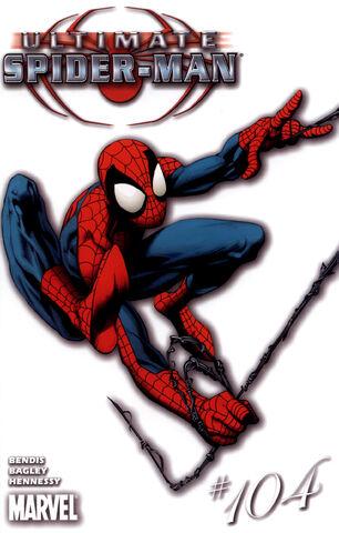 File:Ultimate Spider-Man Vol 1 104 White Variant.jpg