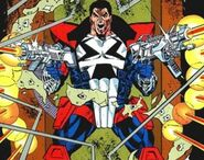 Jacob Gallows (Earth-928) from Punisher 2099 Vol 1 1 0001
