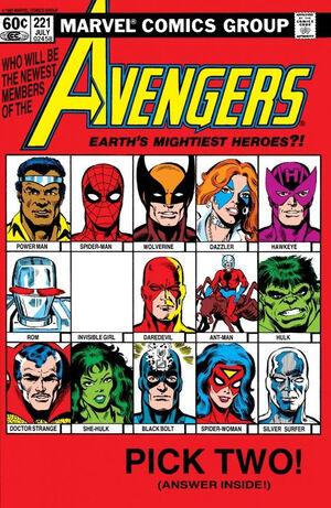 Avengers Vol 1 221