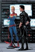Carol Danvers (Earth-616) and Anthony Stark (Earth-616) from Civil War II Vol 1 3 001