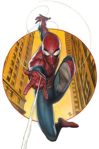 File:Amazing Spider-Man Vol 3 1 Granov Variant Textless.jpg