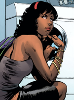 Aria Hayes (Earth-616) from Deathlok Vol 5 1 0001