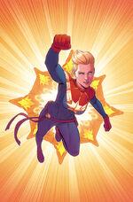 Captain Marvel Vol 9 3 McKelvie Variant Textless