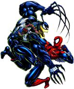 Ben Reilly and Edward Brock (Earth-616) from Venom Along Came a Spider Vol 1 1 0001