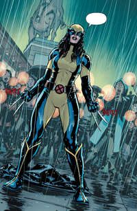 Laura Kinney (Earth-616) from All-New Wolverine Vol 1 1 001