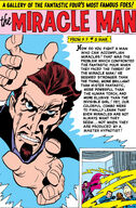 Miracle Man Gallery Page from Fantastic Four Annua Vol 1 1