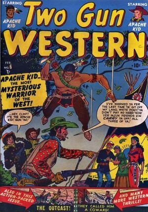Two Gun Western Vol 1 6
