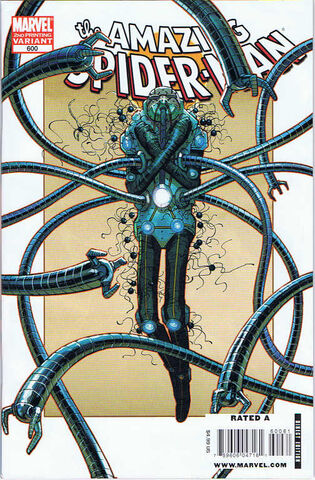 File:Amazing Spider-Man Vol 1 600 Second Printing Variant.jpg