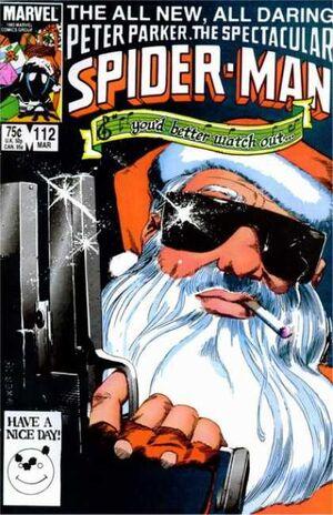 Peter Parker, The Spectacular Spider-Man Vol 1 112