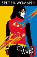 Spider-Woman Vol 6 9 Textless
