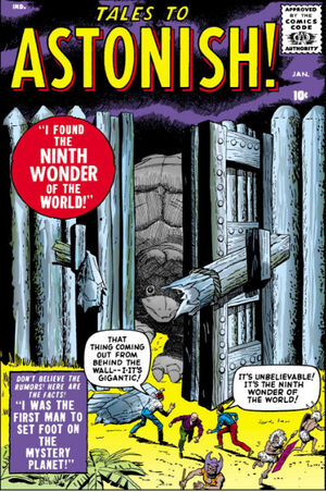 Tales to Astonish Vol 1 1