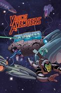 Young Avengers Vol 2 7 Textless
