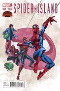 Spider-Island Vol 1 1 Frenz Variant
