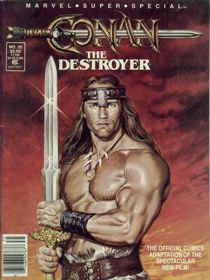 Marvel Comics Super Special Vol 1 35