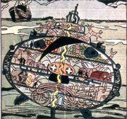 Baron von Wetzel's submarine from Sub-Mariner Comics Vol 1 14 0001