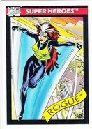 Rogue (Anna Marie) (Earth-616) from Marvel Universe Cards Series I 0001