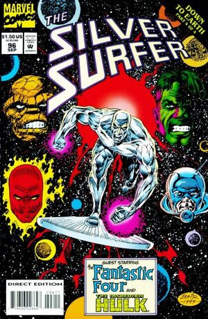 Silver Surfer Vol 3 96