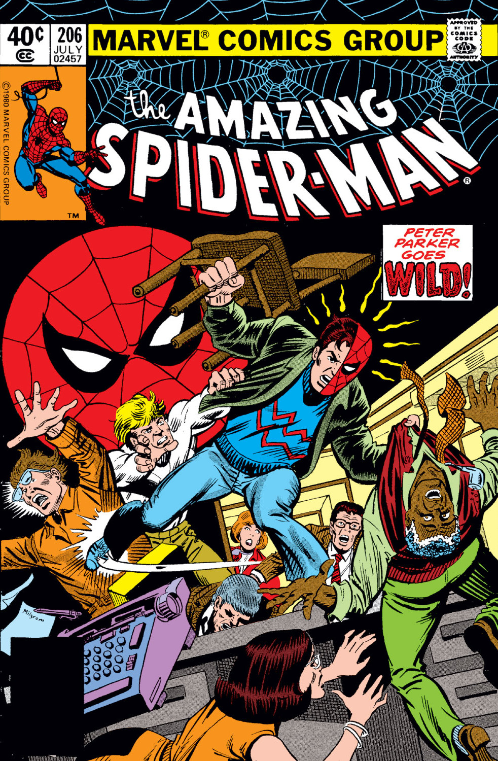 Amazing Spider-Man Vol 1 206