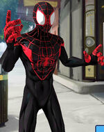 Miles Morales (Earth-TRN461) from Spider-Man Unlimited (video game) 004
