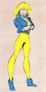 Sally Blevins (Earth-616) from Official Handbook of the Marvel Universe Vol 3 7