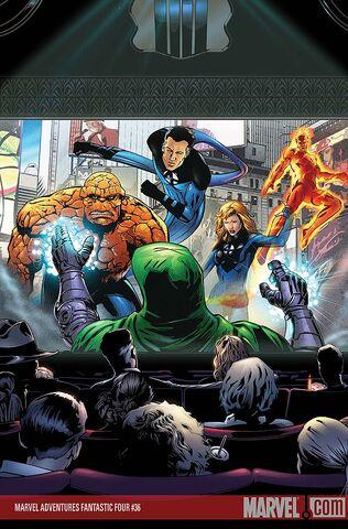File:Marvel Adventures Fantastic Four Vol 1 36 Textless.jpg