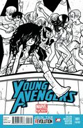 Young Avengers Vol 2 1 2nd Printing Variant