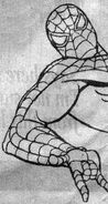 Spider-Man The Animated Series Production Art 001