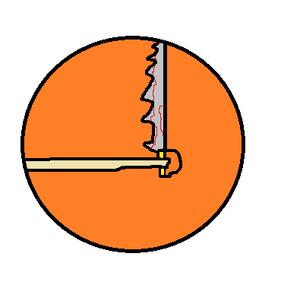 The Serrated Logo