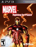Marvel- Fighting For Peace (Iron Man Cover)