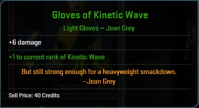 Equipment-Gloves-Gloves of Kinetic Wave ( Jean Grey 6)