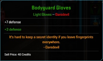 Equipment-Gloves-Bodyguard Gloves (Daredevil 7)