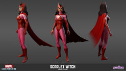 Scarlet Witch Modern Model