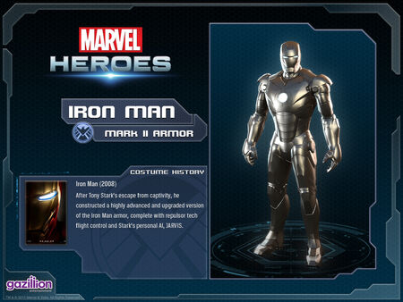 Costume ironman mark2