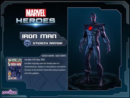Costume ironman stealth