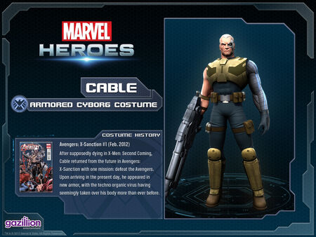 Costume cable armored