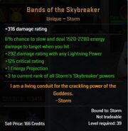 Bands of the Skybreaker