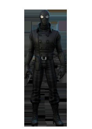 F spiderman noir
