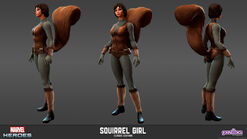 Squirrel Girl Classic Model