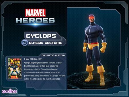 Costume cyclops classic