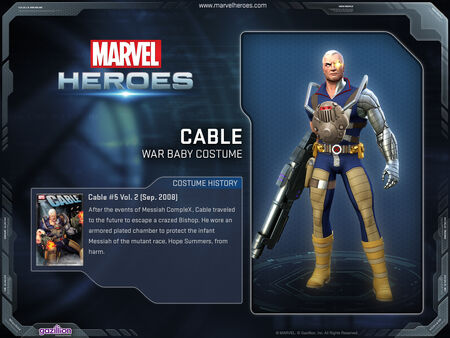 Costume cable warbaby