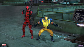 Deadpool wolverine action 0