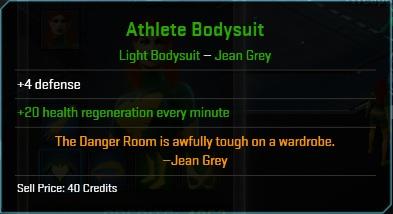 Equipment-Bodysuit-Athlete Bodysuit (Jean Grey 4)